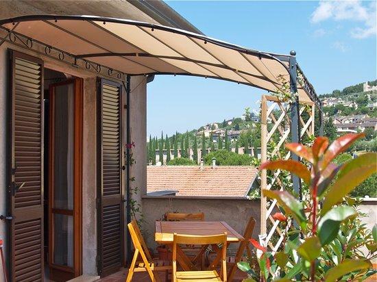 Bed and breakfast Il Cioccolato : terrazza
