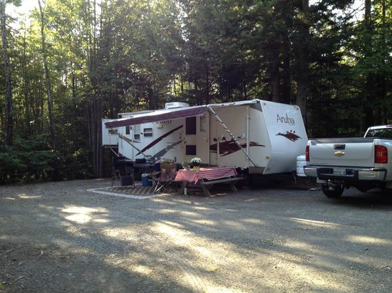 Balsam Woods Campground: Large Wooded Site