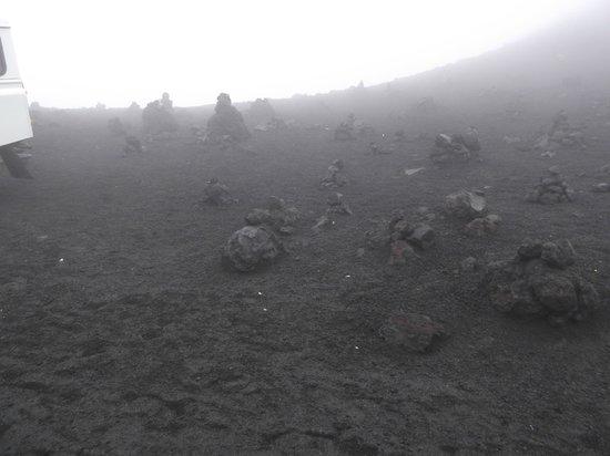 Funivia dell'Etna: ...scenari apocalittici...