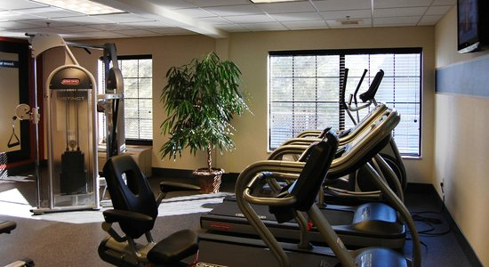 Hampton Inn Hadley-Amherst: Fitness Room