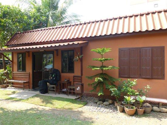Auberge Sala Inpeng (Mekong Riverside Inn): la réception de l'auberge