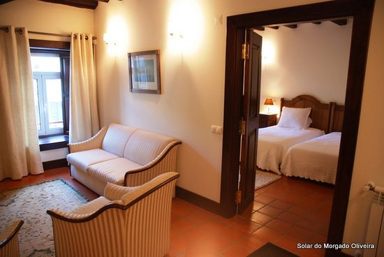 Solar do Morgado Oliveira: room suite