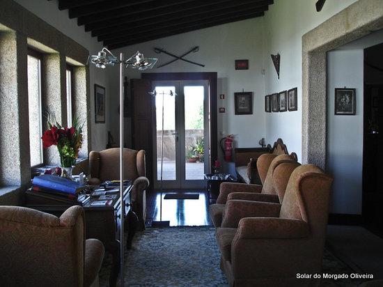 Solar do Morgado Oliveira: reading room