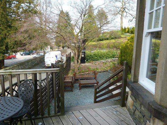 Cranleigh Boutique : Room 10 Private Balcony & General Seating Area