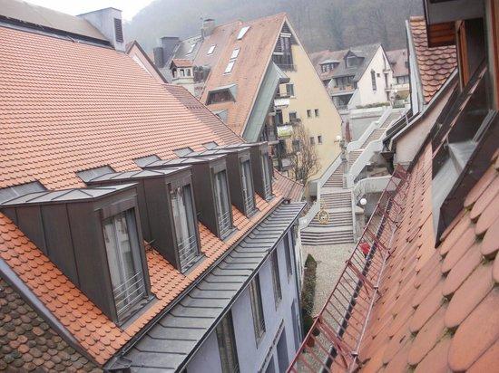 Schwarzwaelder Hof Hotel: View from room13