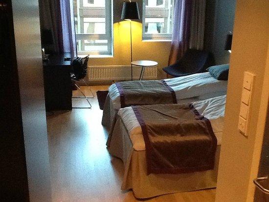 Stord Hotel: Room from the door
