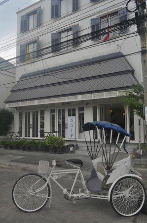 SSIP Boutique Dhevej Bangkok: Entrée de l'hôtel