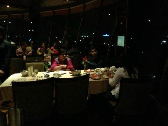 Dining in at Patang