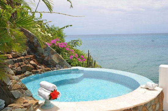 Curtain Bluff Resort: SPA jacuzzi