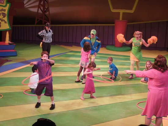 Orlando Shakespeare Theater: Hula Hoop Competition