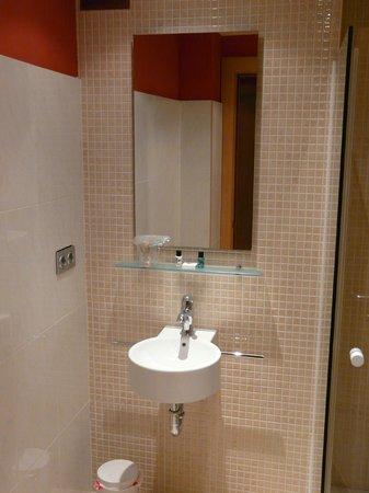 Hotel Plaza la Abadía: Baño moderno