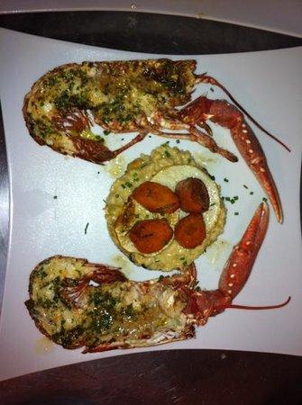 La Cabane du Tchanquet : homard breton