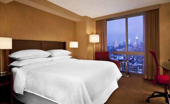 Sheraton Tribeca New York Hotel: King City View Accommodations