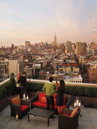 Sheraton Tribeca New York Hotel : Club Lounge Terrace