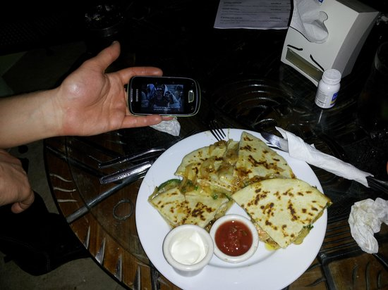Midas Resort: Quesadillas !
