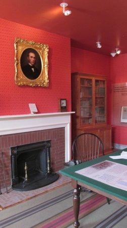 David Wills House: Wills Office