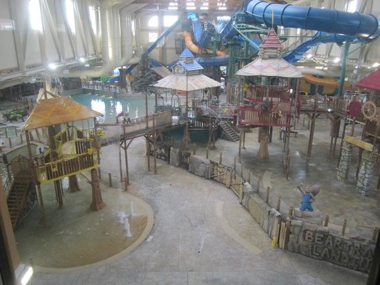 Great Wolf Lodge: the water park