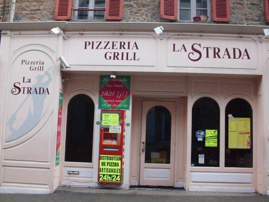 la pizzeria la strada saint brieuc