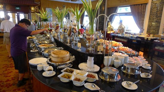 Rex Hotel: breakfast buffet
