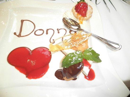 An Grianan Hotel: dessert