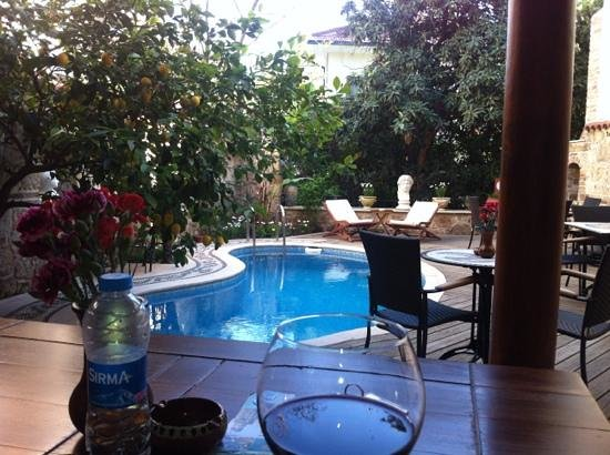 Minyon Boutique Hotel: poolside