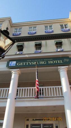 Gettysburg Hotel: Frnt