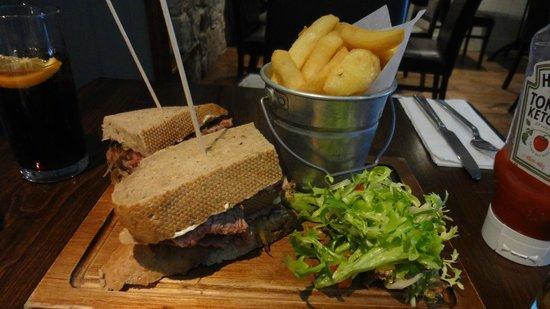 Playfair's Restaurant: Steak sandwich
