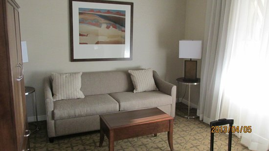 Gettysburg Hotel: Living Room