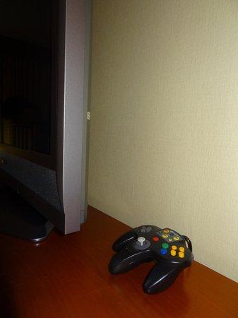 The Paramount Hotel : até videogame no quarto