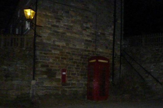 The Inn at Hawnby: How many rooms' views can boast an illuminated red phone box?