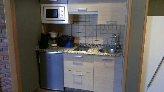Apartamentos Rurales Los Picos: Cocina