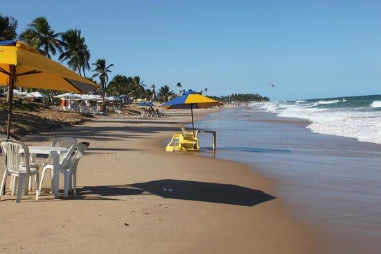 Stella Maris beach : el mar y sus olas