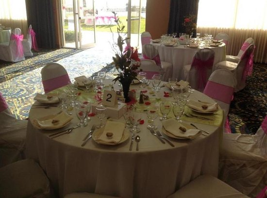 Holiday Inn Hotel & Suites Daytona Beach: My wedding decoration...