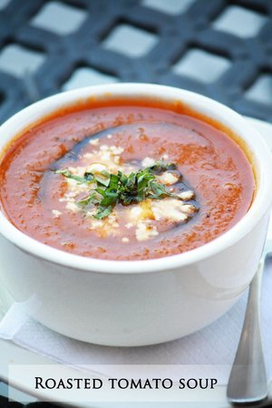 Pita Grille : Roasted Tomato Soup