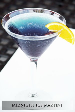 Midnight Ice Martini by Pita Grille