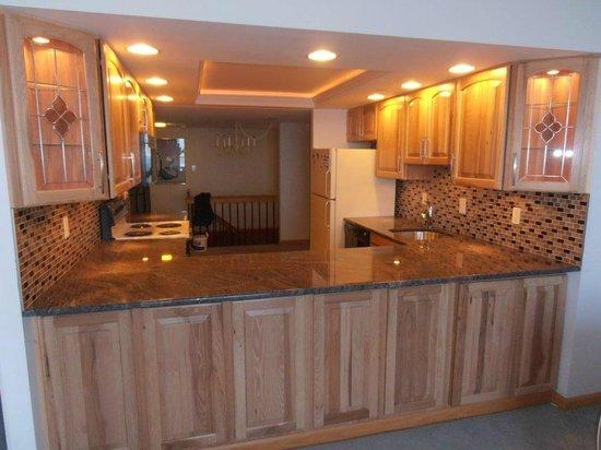 Century 1 Condominium: New Kitchen with Granite Counters