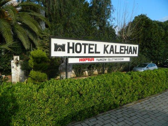 Hotel Kalehan: Street view