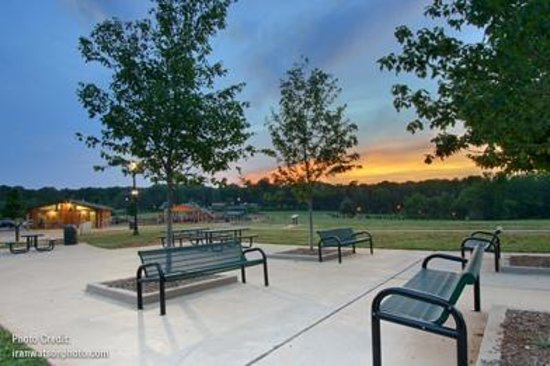 Swift-Cantrell Park: Plaza