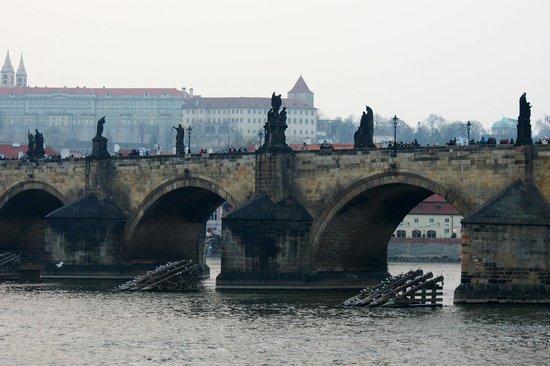 Retezova Apartments: Charles Bridge. A two minute walk away