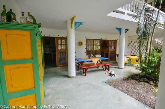 Cabarete Surfcamp: Apartment area