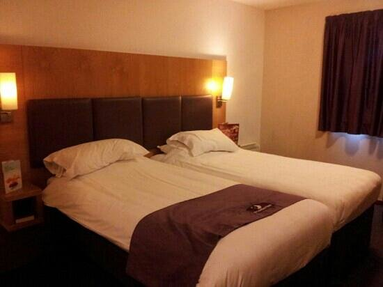 Premier Inn Chester Central North Hotel: comfortable beds