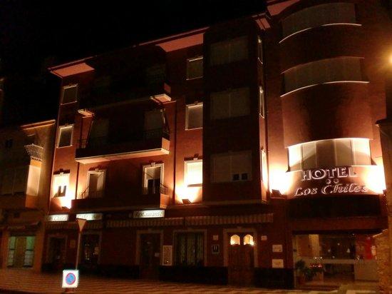 Hotel los Chiles: fachada hotel