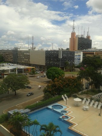 St Paul Plaza Hotel: Vista do Hotel