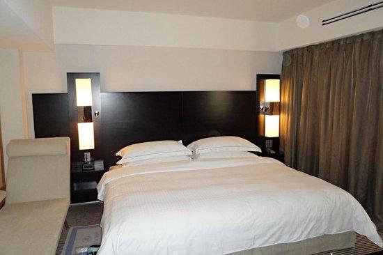 Hilton Tokyo: Bett einfach nur genial zum Schlafen, wie zuhause