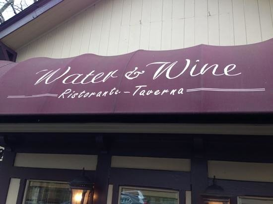 Water & Wine: Entrance