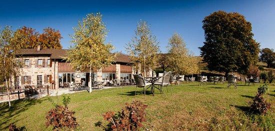 Vico Morcote, Svizzera: Esterno e giardino