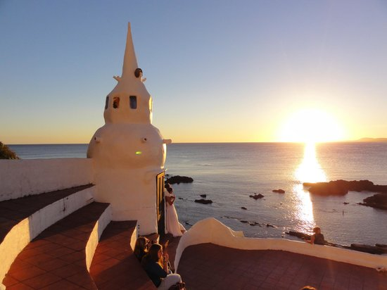 Punta Ballena, Uruguai: pôr-do-sol