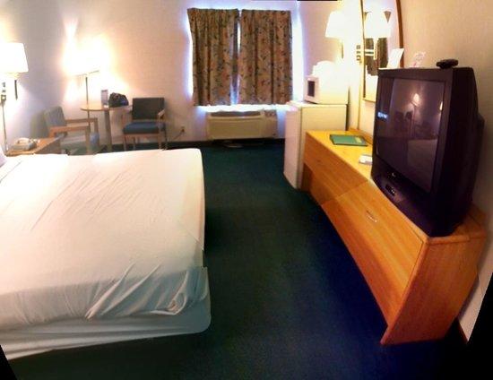 Horizon Inn Motel: Entrance of single room