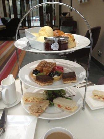 Clocktower Bar & Restaurant : Afternoon tea at Rudding Park