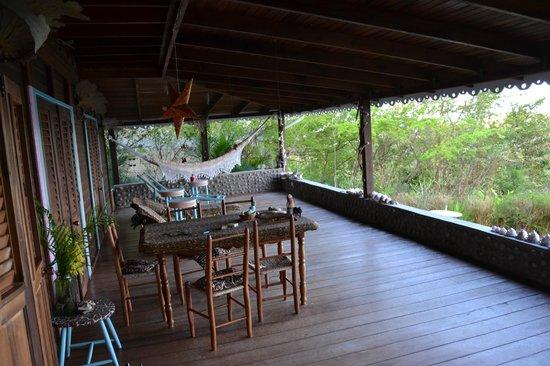 Villawellness St. Lucia: Terrasse